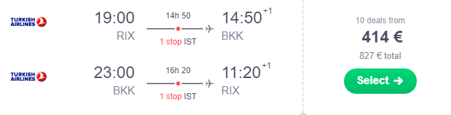 Riga-Bangkoka