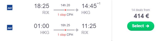 Rīga Honkonga