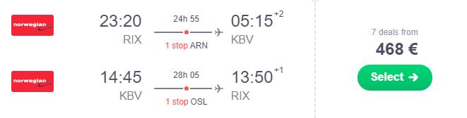Rīga Krabi