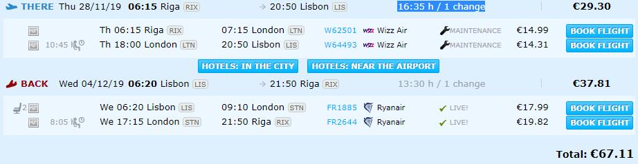 Rīga Lisabona